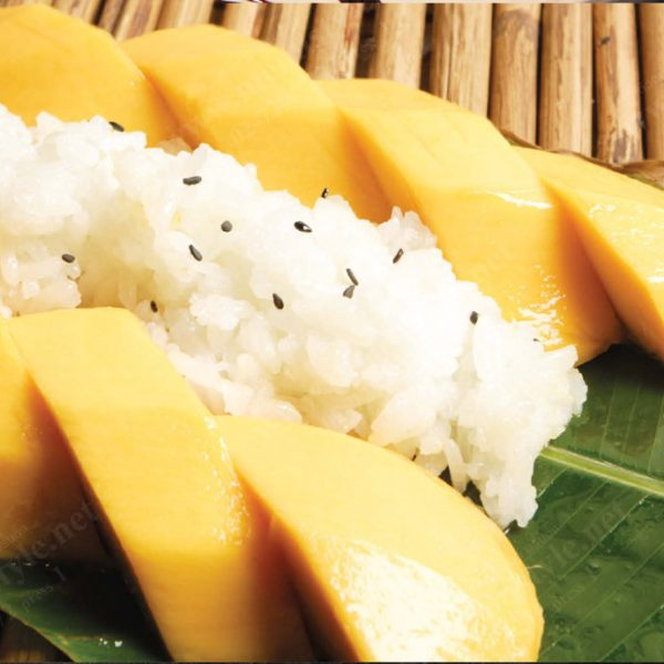 Sweet Rice with Mango (GF) (Seasonal)